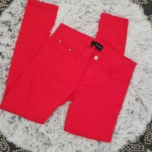 The Kooples skinny jeans red size 26